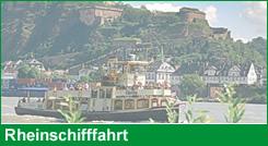 Rheinschifffahrt im Welterbe